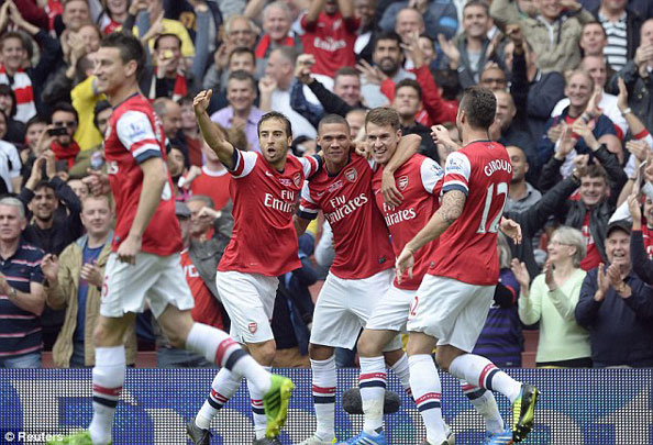 """boc tham vong 4 fa cup: arsenal """"de tho"""" hinh anh 1"""