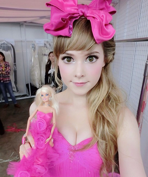 """giat minh thay... """"bup be song barbie"""" tren mang hinh anh 5"""