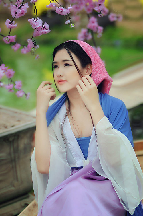 nu sinh bao chi cosplay thanh vo mi nuong o dich dinh hinh anh 2
