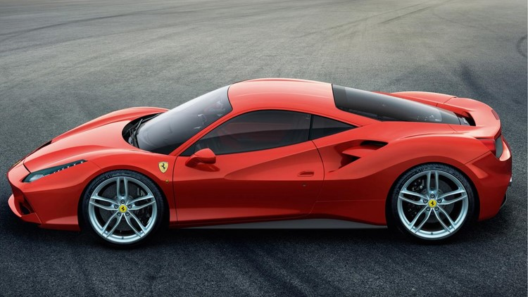 lo anh chi tiet ferrari 488 gtb dong co 661 ma luc hinh anh 2