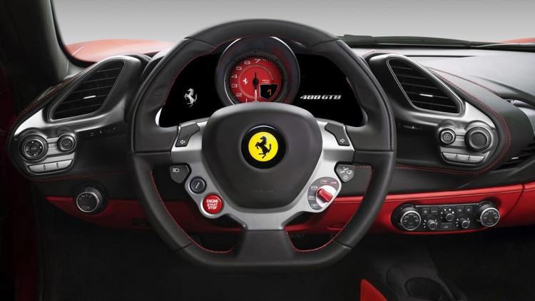lo anh chi tiet ferrari 488 gtb dong co 661 ma luc hinh anh 5