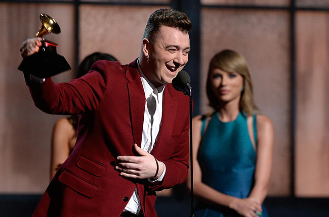 grammy 2015: taylor swift that the truoc sam smith hinh anh 1
