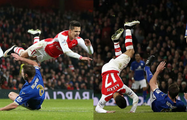 arsenal tra gia cuc dat cho chien thang truoc leicester hinh anh 1