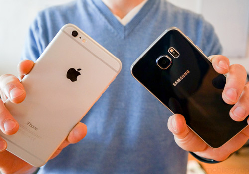 galaxy s6 va iphone 6 plus do tai chup anh hinh anh 1