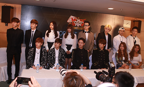 exo noi tieng viet, sistar hat hello viet nam hinh anh 1