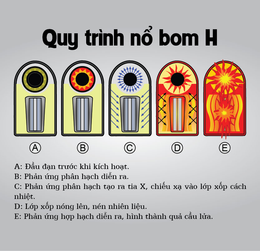 infographic: bom nhiet hach khac bom nguyen tu the nao? hinh anh 3