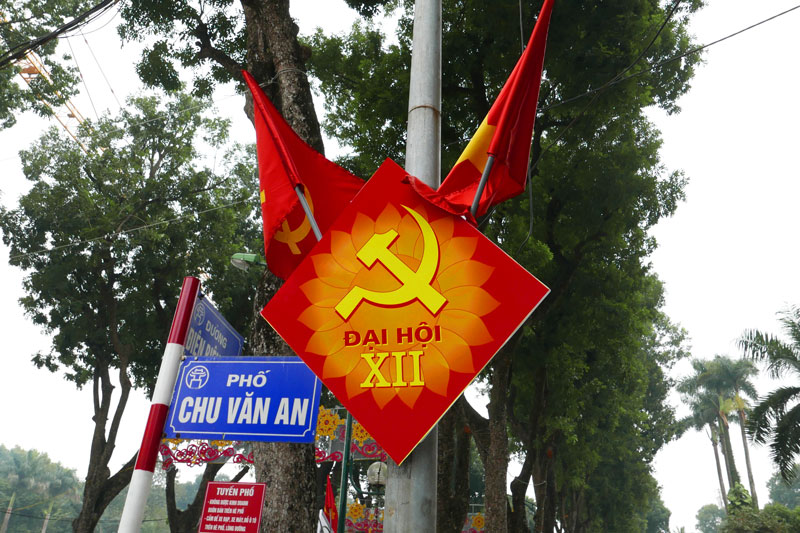 ruc ro co hoa truoc them dai hoi dang toan quoc lan thu xii hinh anh 6