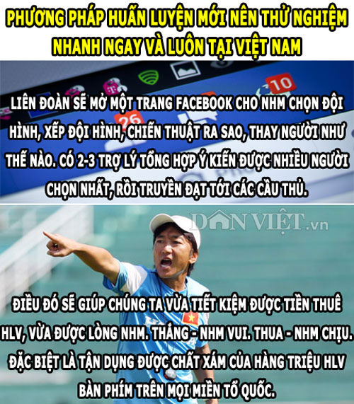 "anh che (15.1): u23 vn thu nghiem phuong phap ""di"", leicester hoa ""ho ly"" hinh anh 1"