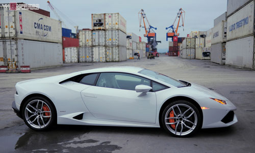 can canh sieu xe lamborghini huracan mau doc nhat o viet nam hinh anh 1