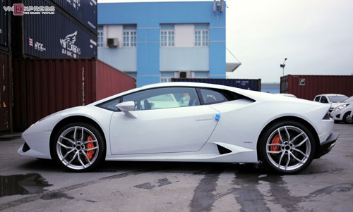 can canh sieu xe lamborghini huracan mau doc nhat o viet nam hinh anh 6