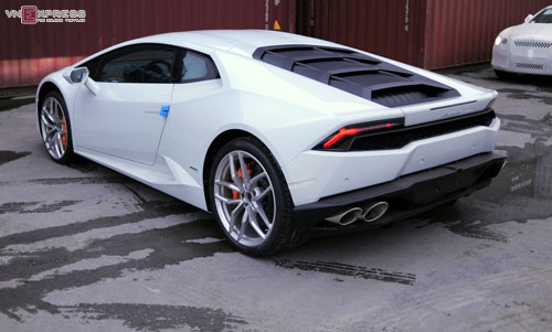 can canh sieu xe lamborghini huracan mau doc nhat o viet nam hinh anh 7