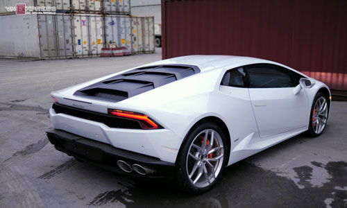 can canh sieu xe lamborghini huracan mau doc nhat o viet nam hinh anh 9