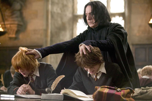 nhung dieu an tuong nhat ve 'thay snape' trong 'harry potter' hinh anh 1