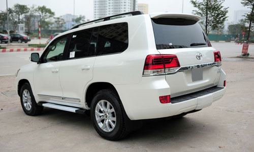 can canh toyota land cruiser 2016 dau tien ve viet nam hinh anh 5