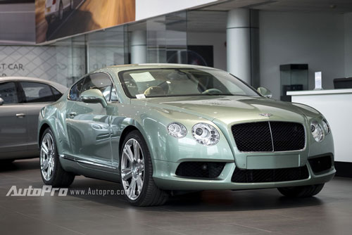 can canh chiec bentley continental gt doc nhat viet nam hinh anh 1
