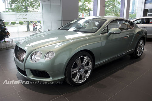can canh chiec bentley continental gt doc nhat viet nam hinh anh 3