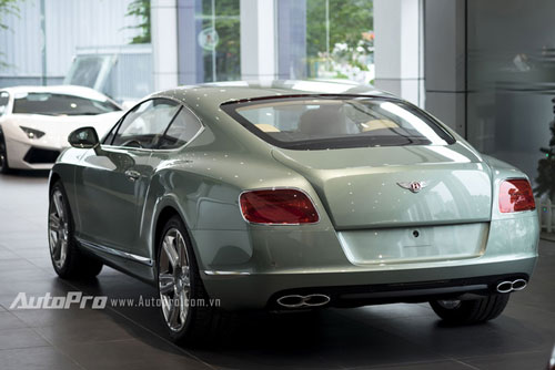can canh chiec bentley continental gt doc nhat viet nam hinh anh 5