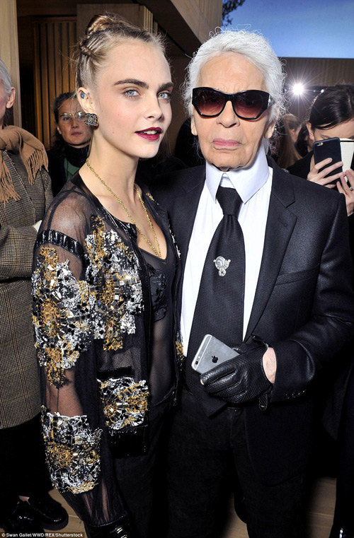 g-dragon, cara delevingne gay nao loan show chanel hinh anh 7