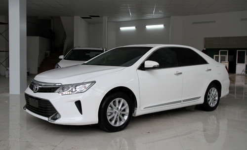 can canh camry 2016 dai loan dau tien ve viet nam hinh anh 7