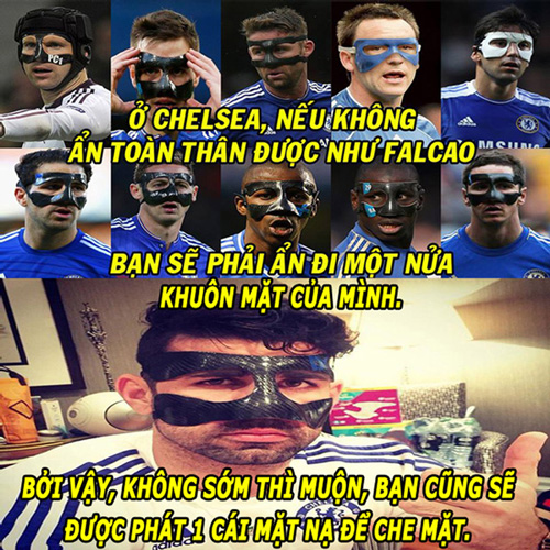 """anh che (13.2): chelsea co doi quan """"mat na"""", rooney muon sang trung quoc hinh anh 1"""