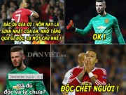 "The thao - aNH CHe (14.2): Depay ""khiep via"" De Gea, Ronaldo ""ganh team"" Real"