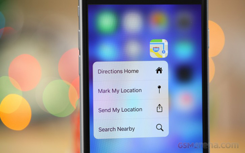 """apple bi to """"chom"""" cong nghe 3d touch hinh anh 1"""