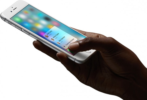 """apple bi to """"chom"""" cong nghe 3d touch hinh anh 2"""