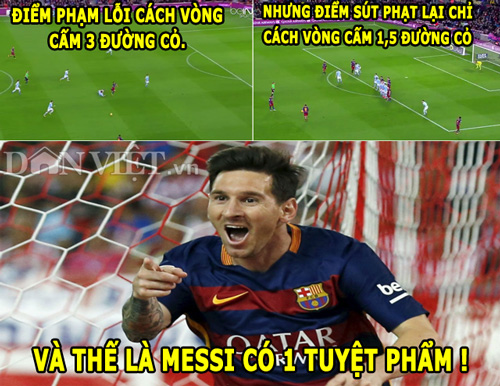 "anh che (17.2): messi ""an may"", van gaal tro thanh thien than hinh anh 1"