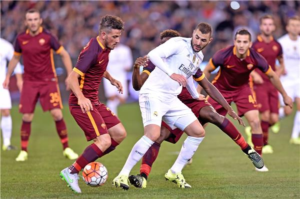 xem truc tiep as roma vs real madrid hinh anh 1