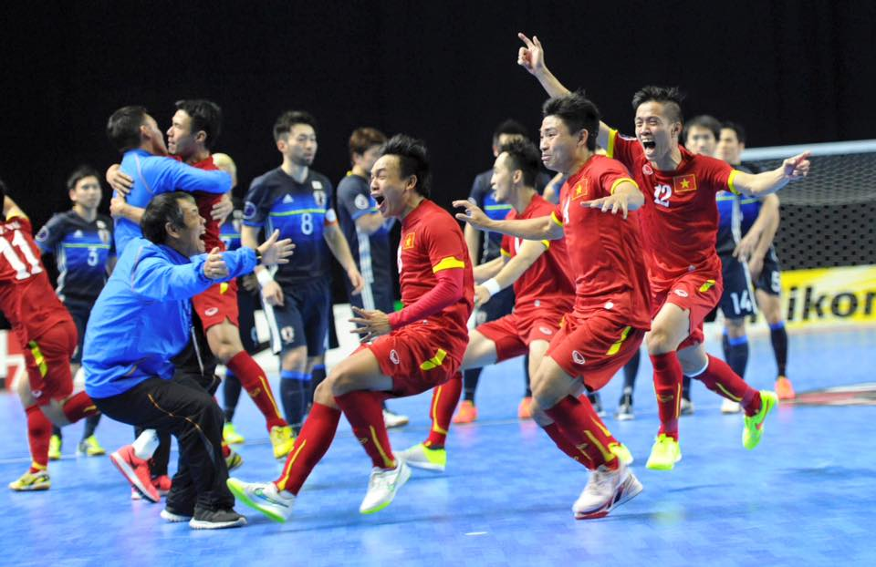 doat ve world cup, dt futsal viet nam nhan thuong… 1 ty dong hinh anh 1