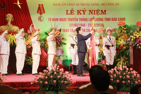 thu tuong du le ky niem ngay truyen thong luc luong tinh bao cand hinh anh 1