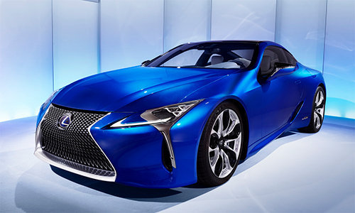 can canh sieu xe the thao lexus lc 500h hinh anh 1