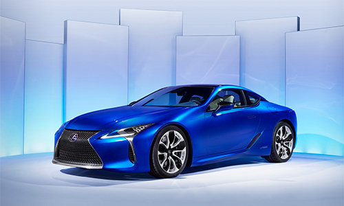 can canh sieu xe the thao lexus lc 500h hinh anh 2