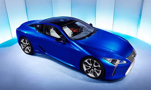 can canh sieu xe the thao lexus lc 500h hinh anh 3