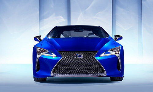 can canh sieu xe the thao lexus lc 500h hinh anh 6