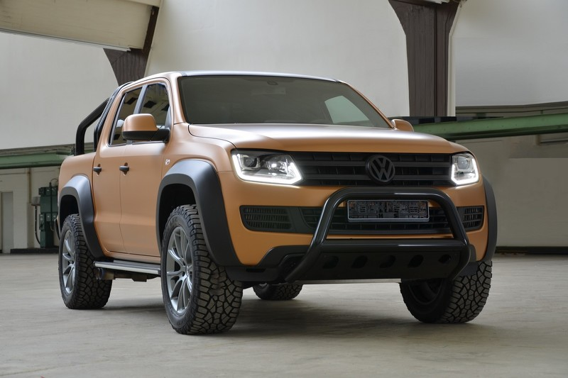 "vw amarok v8 passion desert edition ca tinh, gia ""khung"" hinh anh 1"