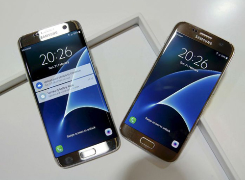"samsung galaxy s7 edge ""dan truoc"" s7, pha vo ky luc dat hang hinh anh 1"