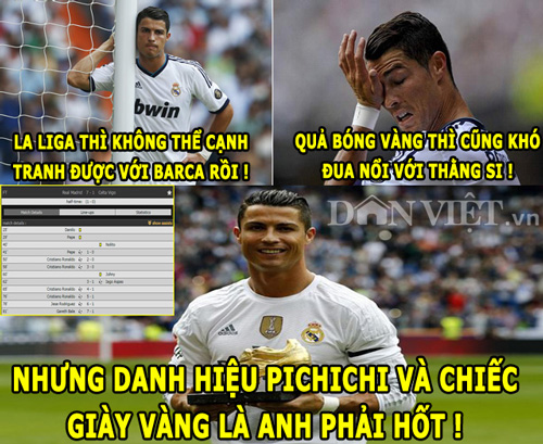 "anh che (6.3): enrique ""dim hang"" real, ronaldo quyet tam gianh chiec giay vang hinh anh 2"
