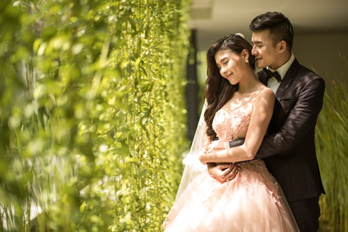 ngam anh cuoi lang man cua luong the thanh - thuy diem hinh anh 2