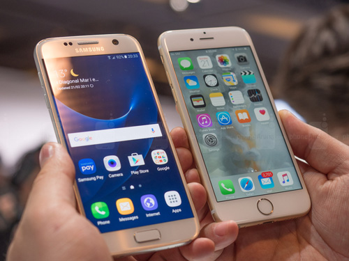 so sanh samsung galaxy s7 va iphone 6s: can tai, can suc hinh anh 2