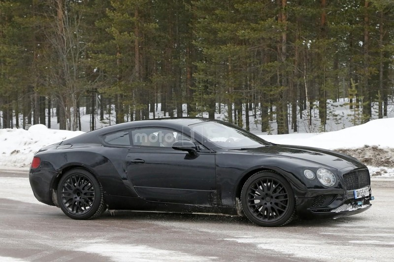 lo anh thu nghiem cua bentley continental gt 2018 hinh anh 3