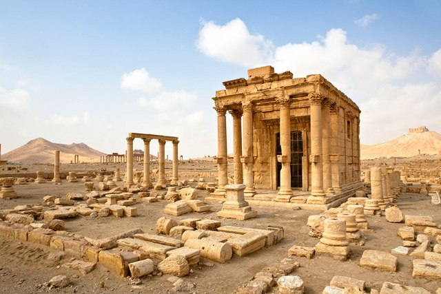 syria danh bat is khoi thanh co chien luoc palmyra hinh anh 1