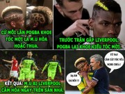 "The thao - HaU TRuoNG (16.1): Mourinho cam Pogba cat toc, Guardiola ""nho"" Joe Hart"