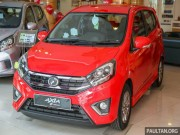 o to - Xe may - Phat them 2017 Perodua Axia gia 126 trieu dongjavascript:;