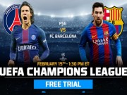 Lich phat song truc tiep vong 1/8 Champions League ngay 15.2