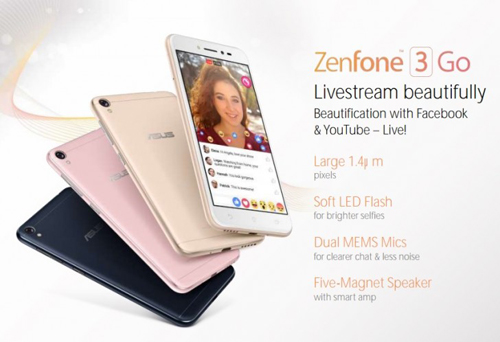 asus zenfone 3 go gia re lo dien hinh anh 1