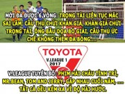 "The thao - HaU TRuoNG (20.2): V.League ""tau hai"" cho ca the gioi"