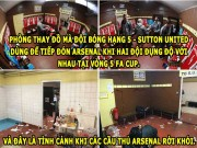 "The thao - HaU TRuoNG (21.2): Arsenal co hanh dong xau, V.League ""bet bat"" het co"
