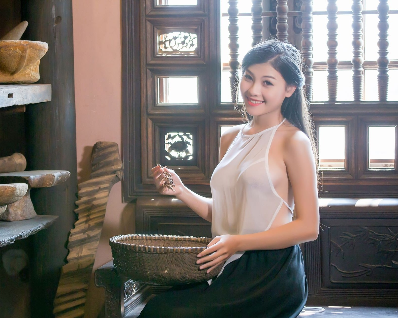 """thich khoe than chup anh nude, cac """"hot girl"""", nguoi mau duoc gi? hinh anh 3"""