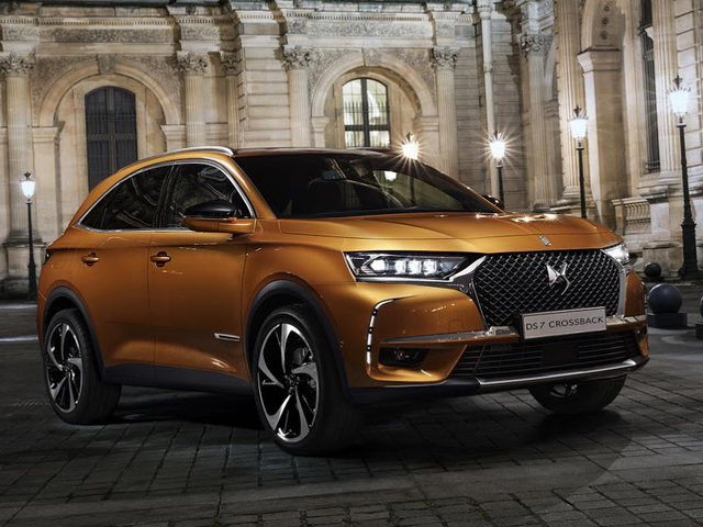 ds7 crossback: suv the thao tu nuoc phap hinh anh 1